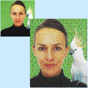 Irene - Irène Elisabeth Braun - 5 x 6 Baseplates
