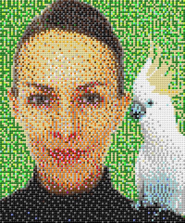 Irene mosaic
