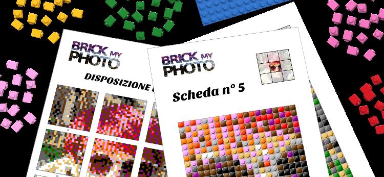 Brick my Photo - Quando la tua foto diventa un mosaico